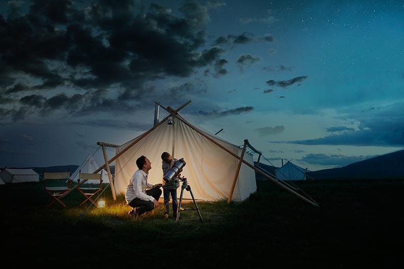 camping-telescope